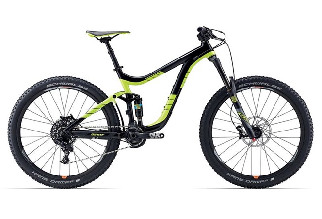 Giant Reign 2 2017 in Black Green