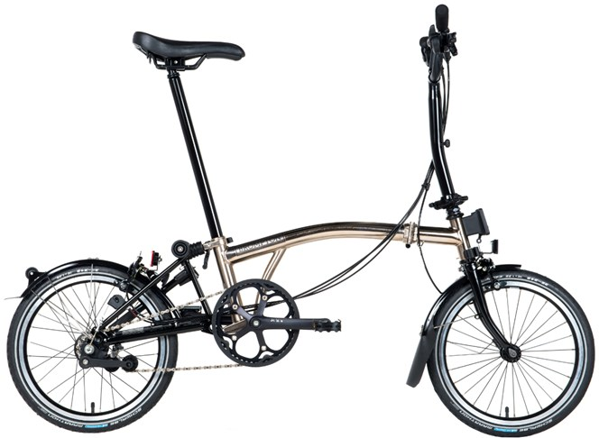 Brompton 2017 M6L Nickel Special Edition